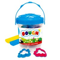 Coloured Dough Sticks in Blue Tub 8 Pack