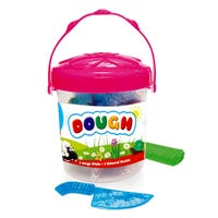 Coloured Dough Sticks in Pink Tub 8 Pack