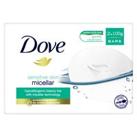 Dove Micellar Water Beauty Bar 2 Pack