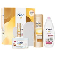Dove Glow and Gradual Tan with Body Mitt Gift Set