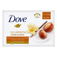 Dove Shea Butter Soap Bar 100g 2 Pack