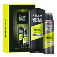 Dove Men Care Sports Active Duo Gift Set