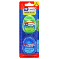 Dr. Fresh Dental Floss Minis 2 Pack