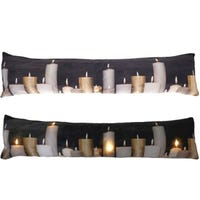 LED Draught Excluders Candles