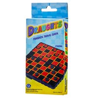 Mini Magnetic Travel Game of Draughts