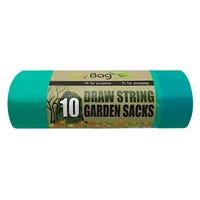 Ecobag Drawstring Garden Sacks 50L 10 Pack