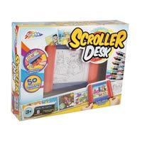 Scroller Desk Kids Art Activity Set