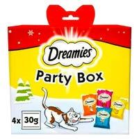 Dreamies Party Box Cat Treats 4 Pack