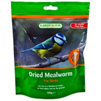 Garden and Co Dried Mealworms 100g