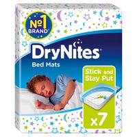 Huggies Dry Nites Bed Mats 7 Pack