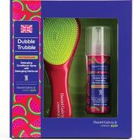 Dubble Trubble Detangling Brush and Watermelon Detangling Spray