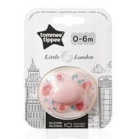 Tommy Tippee Little London Soother Pink