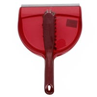 Dust Pan And Brush Red