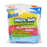 Microfibre Multipurpose Cloths 4 Pack