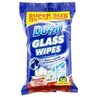 * Duzzit Glass Wipes 50 Pack