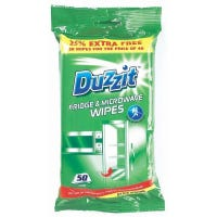 Duzzit Fridge & Microwave Wipes 50 Pack