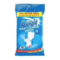 Toilet Cleaning Wipes 40 Pack