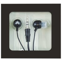 Mini In-Ear Headphones Black
