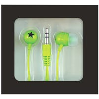 Mini In-Ear Headphones Green