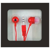 Mini In-Ear Headphones Red