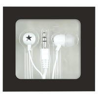 Mini In-Ear Headphones White