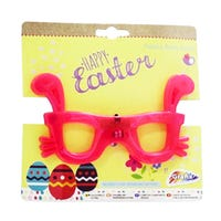 Flashing Easter Bunny Glasses Pink