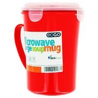 EDGO Large Microwavable Soup Mug
