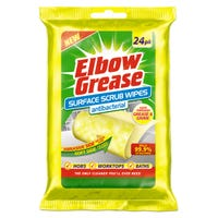 Elbow Grease Anti-Bacterial Wipes 24 Pack