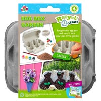 Recycle and Create Grow Your Own Egg Box Garden