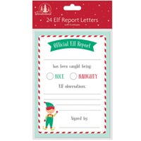 Elf Report Sheets 24 Pack