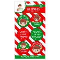 Elf Badges 6 Pack