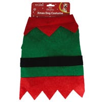 Christmas Elf Dog Costume in Small