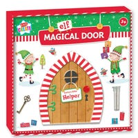 Christmas Magical Elf Door