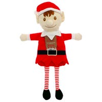 Country Club Hot Water Bottle in Christmas Elf Design