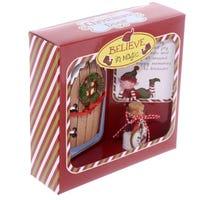 Christmas Elf Door with Wishes Jar