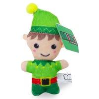 Christmas Mini Plush Elf Figure 10cm
