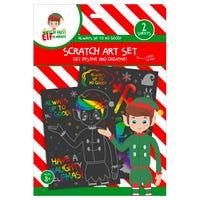 Elf Scratch Art Set