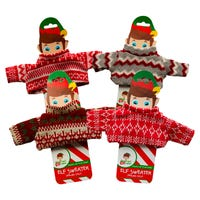 Elf Festive Knitted Sweater Assorted