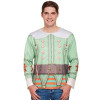 Mens Dress Up Elf Top