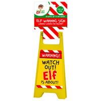 Elf Warning Sign
