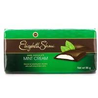 Elizabeth Shaw Dark Mint Cream Bar 96g
