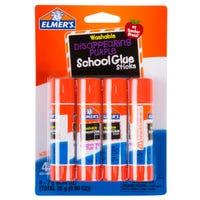 Elmer's Disappearing Purple School Glue Sticks 4 Pack