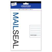 E-Mailer Bags in Medium 6 Pack