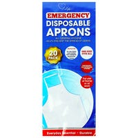 Emergency Disposable Aprons 20 Pack