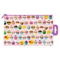 Emoji Cupcake PVC Pencil Case