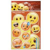 Emoji Play Pack Colouring Set
