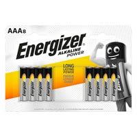 Energiser AAA Alkaline Batteries 8 Pack