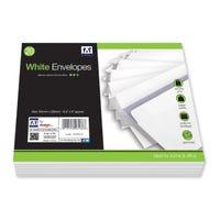 C5 White Envelopes 20 Pack