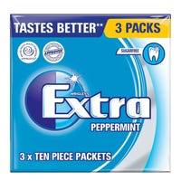 Wrigley Extra Peppermint Gum 3 Pack