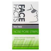 Face Facts Nose Strips with Tea Tree 6 Pack